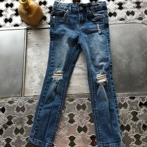 Cotton On Kids Ripped Jeans, Size 4T